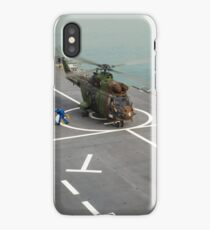 Eurocopter AS332 Super Puma Helicopter iPhone Case/Skin