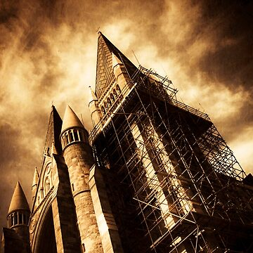 A Gothic Construction by jorgophotograph