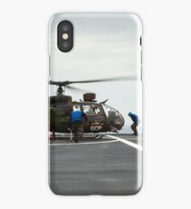 French Aérospatiale Gazelle Attack Helicopter iPhone Case/Skin