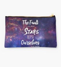 The Fault is Not In Our Stars || Galaxy  Studio Pouch