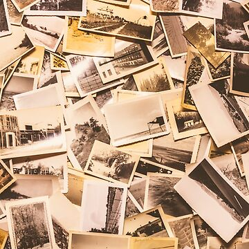 Pile of many instant photos by jorgophotograph