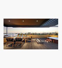 Roof Deck Photographic Print