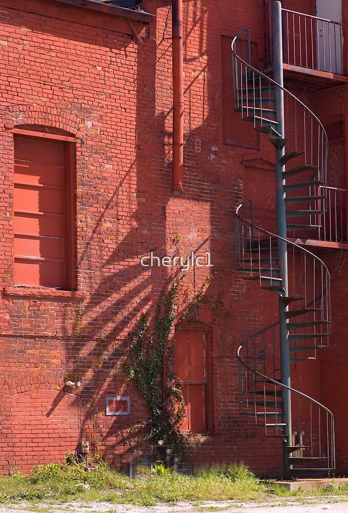 Spiral Stairway by cherylc1