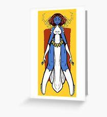 Masterful, Powerful, Mystique Greeting Card