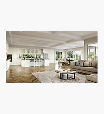 Classical Residence - Interior Photographic Print