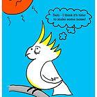 Noisy Cockatoo by Rob Johnston