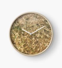 Wheat larger Clock