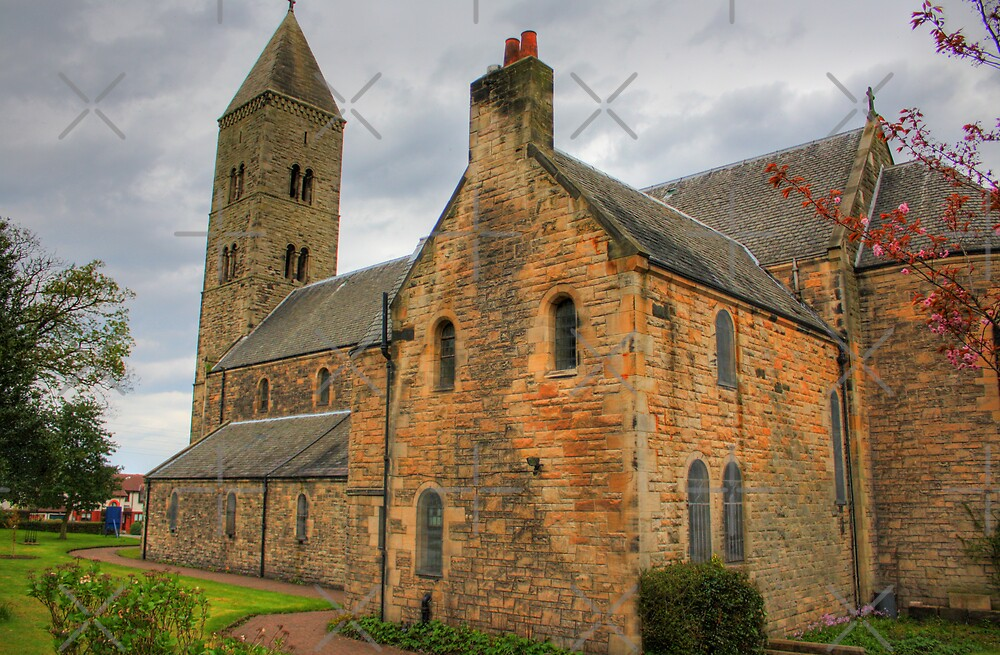 Carriden Church by Tom Gomez