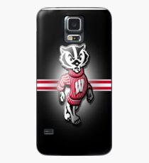Funda/vinilo para Samsung Galaxy Wisconsin Badgers Fútbol