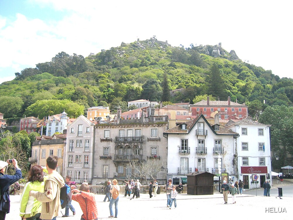 Palace View of Sintra by HELUA