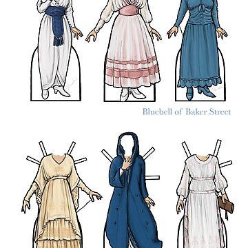 Muñecas de papel de Marjorie Kay de bluebell42