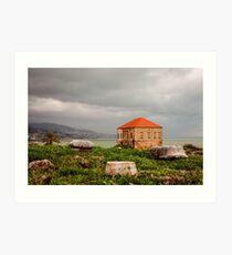 Ancient Ruins Byblos Lebanon Art Print