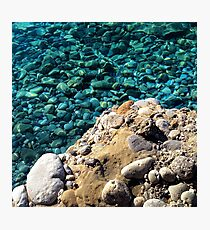 ROCKS AND WATER Photographic Print