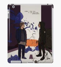 When I Met You, It Just Felt Like Coming Home iPad Case/Skin