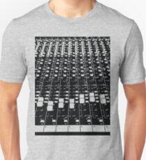 EDM Sound Mix Board Rave Techno Music T-Shirt