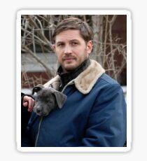 Tom Hardy dog #2 Sticker