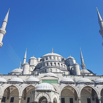 The blue mosque by Jaayp