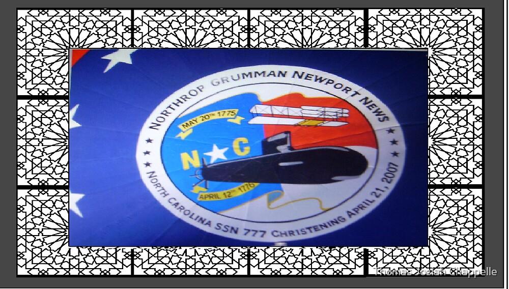 Northrup Gruman  PCU North Carolina christening  logo by Thomas Josiah Chappelle