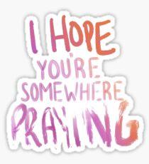 Kesha - Praying Sticker