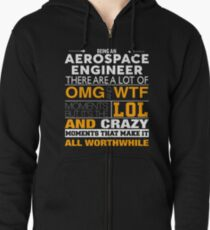 AEROSPACE ENGINEER BEST COLLECTION 2017 Zipped Hoodie