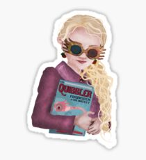 Luna Lovegood Sticker Sticker