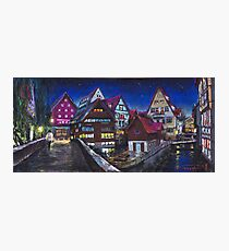 Germany Ulm Fischer Viertel Photographic Print