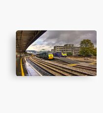The Old and New Order at Temple Meads  Canvas Print