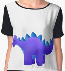Dinosaures  Chiffon Top