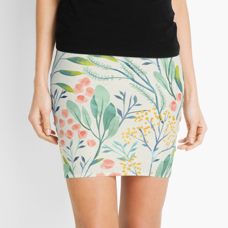Botanical Garden Mini Skirt