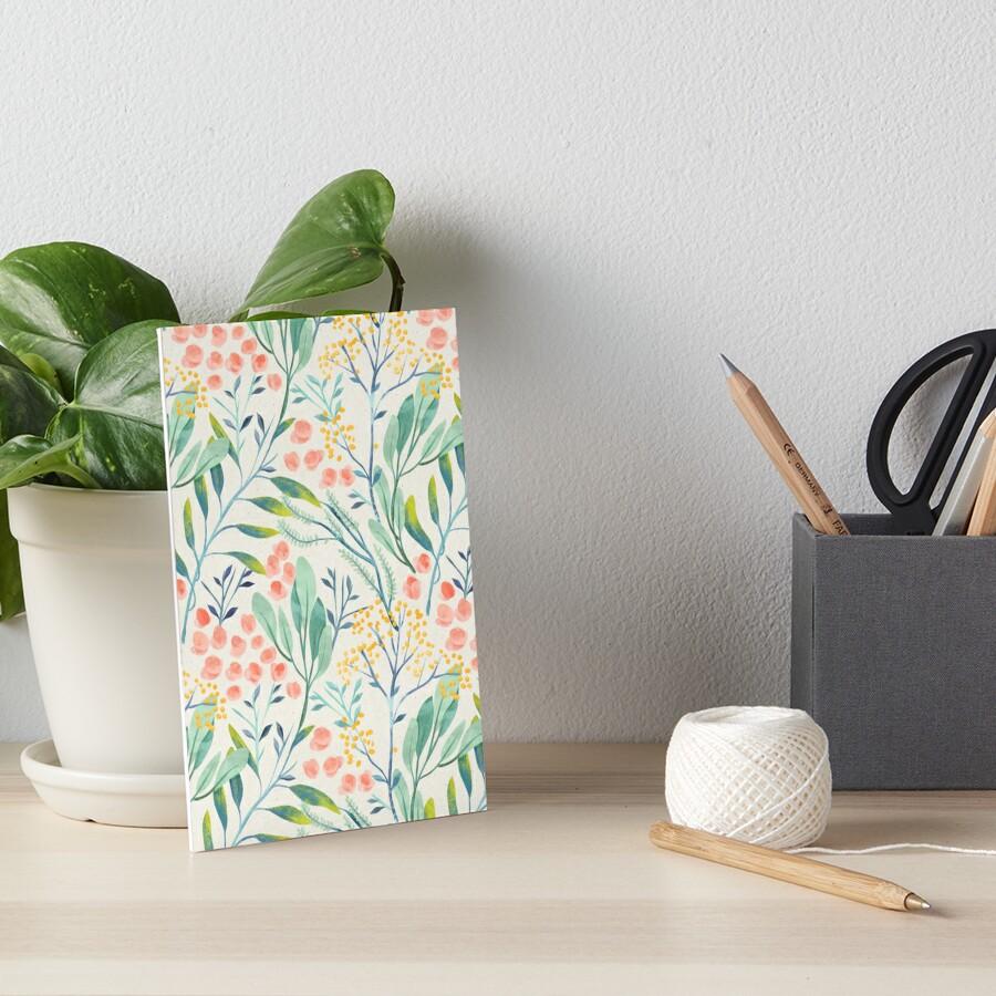 Botanical Garden Art Board Print