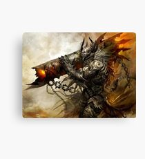 Monster Bazooka Canvas Print