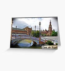 Plaza de España, Sevilla Greeting Card