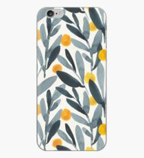 Indigo Mustard iPhone Case