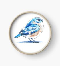 Blue bird Clock