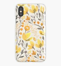 Yellow field iPhone Case/Skin