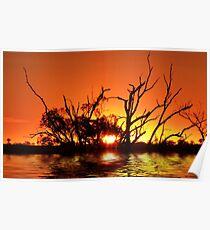 Flooding Sun Poster