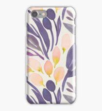 Peach and Purple iPhone Case/Skin