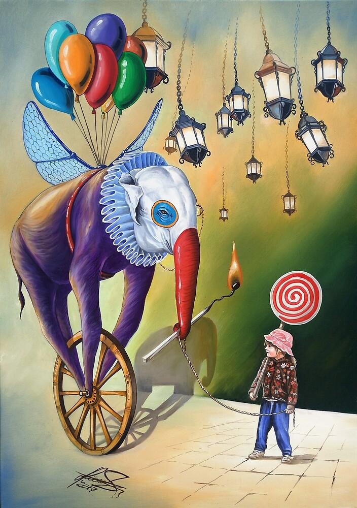 Imaginary Friend(FOR SALE) by Raceanu Mihai Adrian