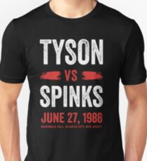 Tyson vs Spinks Unisex T-Shirt
