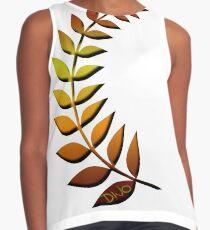 Leaf Sleeveless Top