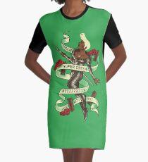 Super Grün T-Shirt Kleid