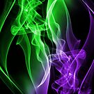 Smoke Colour Green and purple by Apatche Revealed
