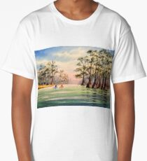 Canoeing The Suwannee  Long T-Shirt