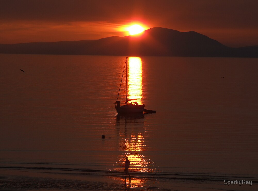 set sail at dusk by SparkyRay