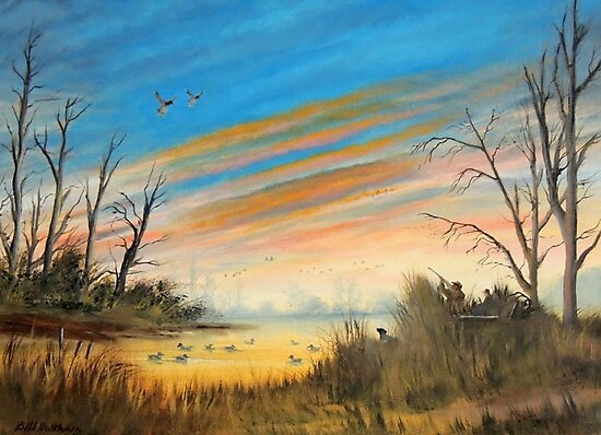 Evening Duck Hunt by bill holkham