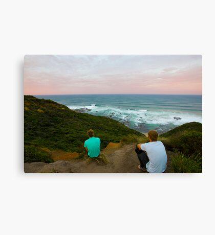Surf Check Leinwanddruck