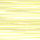 Yellow Striped Lines Happy Feelings Summer Time by rupydetequila