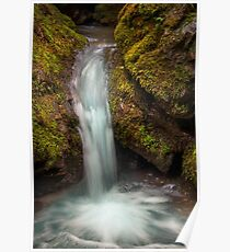Tiny Waterfall Poster