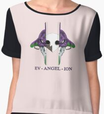 Evangelion 01 mask Women's Chiffon Top