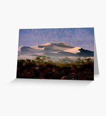 Sculptured  Dunes Greeting Card